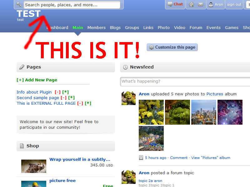 Search Pro (top search like Facebook)